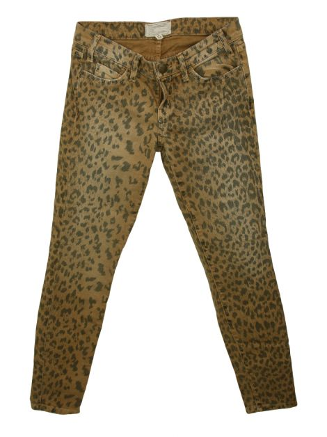 Calça Current Elliott The stiletto out Leopard