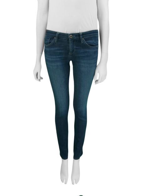 Calça Adriano Goldschmied The Stilt Jeans Escuro