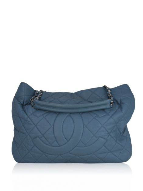 Bolsa Chanel Timeless CC Expandable Azul