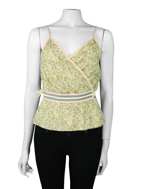 Top Marc Jacobs Estampa Floral