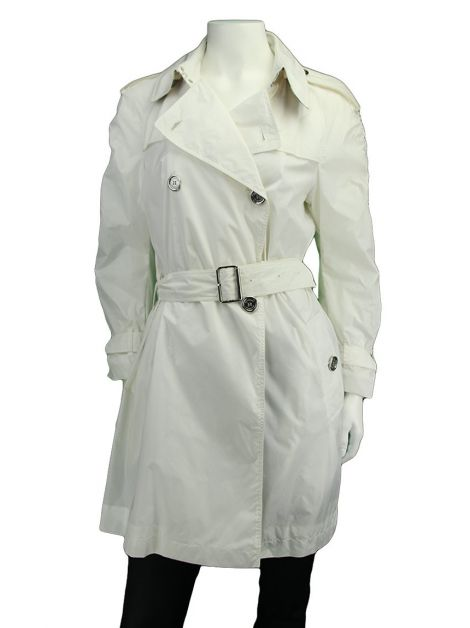 Trench Coat Burberry Brit Nylon Branco