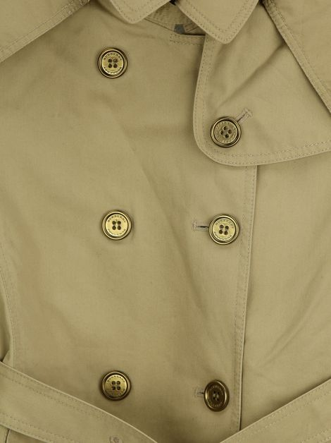 Trench Coat Burberry Children Gabardine Caqui Infantil
