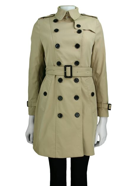 Trench Coat Burberry Clássico Bege