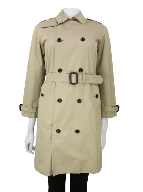 Trench Coat Burberry Tecido Bege Infanto-Juvenil