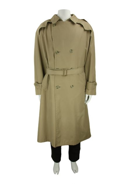 Trench Coat Christian Dior Monsieur Tecido Bege