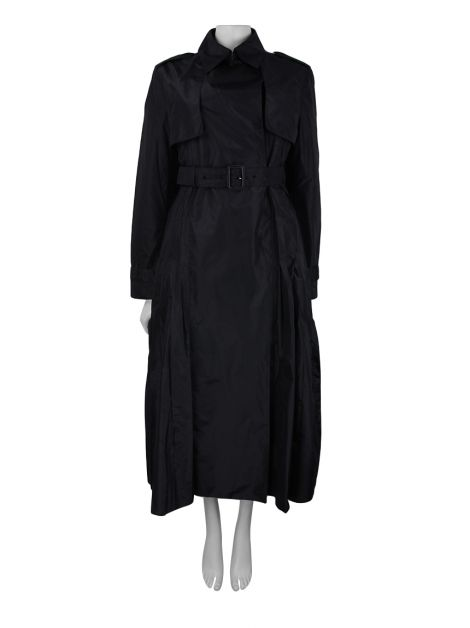Trench Coat Christian Dior Seda Preto