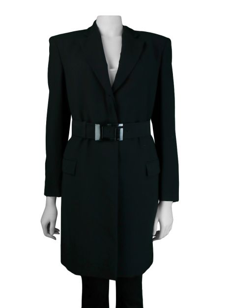 Trench Coat Gucci Tecido Preto