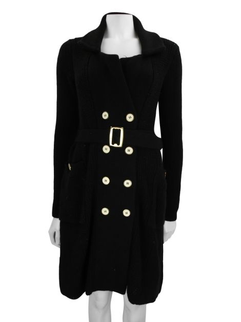 Trench Coat Marc by Marc Jacobs Lã Preto