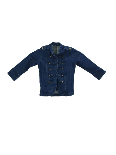Jaqueta Mixed Kids Jeans Azul