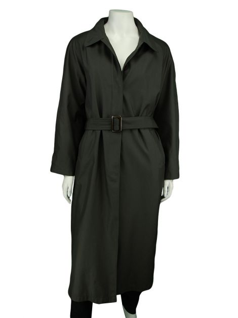 Trench Coat Prada Nylon Verde