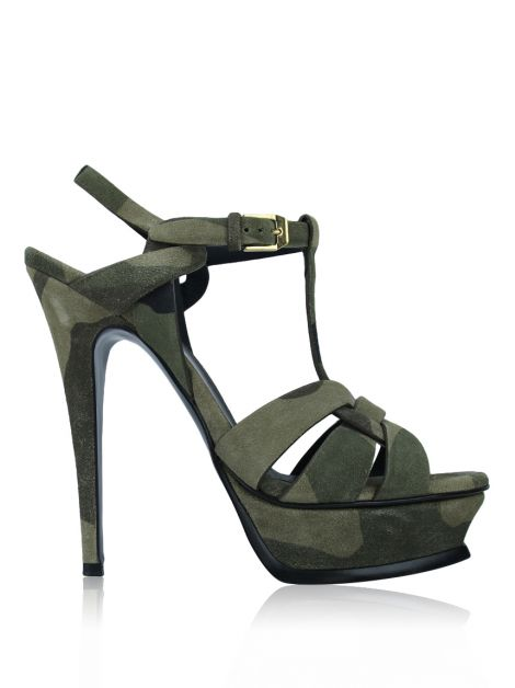 Sandália Yves Saint Laurent Tribute Militar
