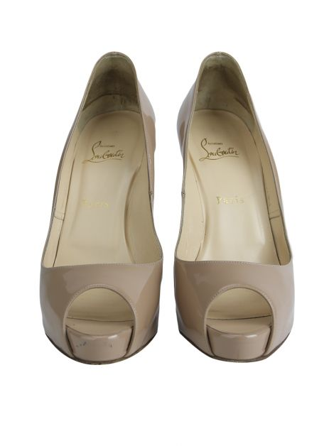 Sapato Christian Louboutin Very Prive 120 Nude