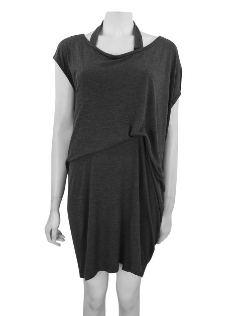 Vestido All Saints Spitafields Cinza Mescla