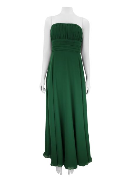 Vestido Candy Brown Verde Longo