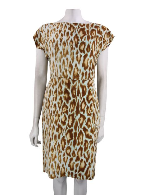 Vestido Christian Dior Estampa Animal Print