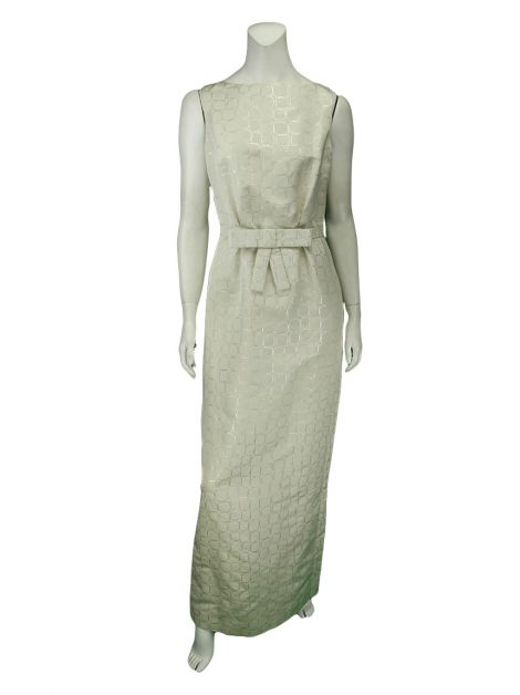 Vestido Christian Dior Longo Off-White