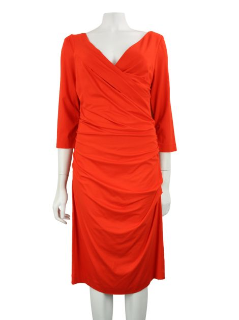 Vestido Diane Von Furstenberg Bentley Three Quarters
