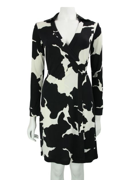 Vestido Diane von Furstenberg New Jeanne Two Silk Wrap Dress