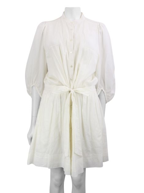 Vestido Diane Von Furstenberg Breeze Off White
