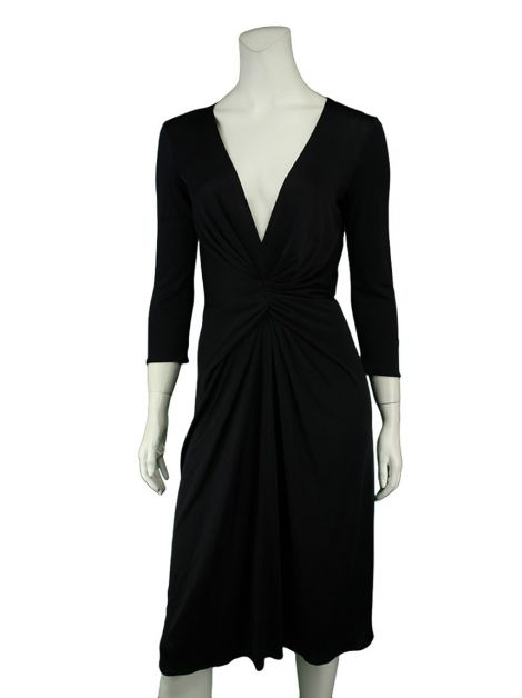 Vestido Issa London Seda Preto