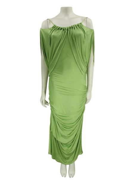 Vestido John Galliano Viscose Verde