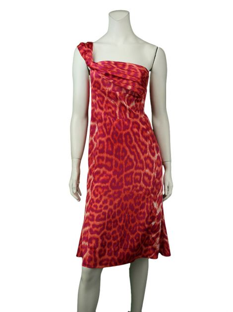 Vestido Just Cavalli Leopardo Multicolor
