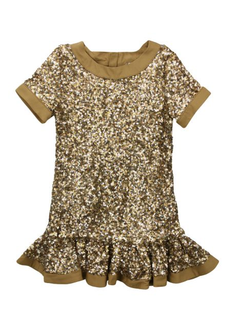 Vestido Little Marc Jacobs Paête Infantil