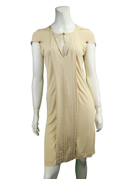 Vestido Louis Vuitton Nude