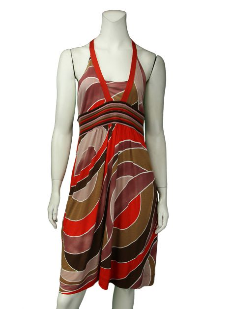 Vestido M Missoni Viscose Multicor