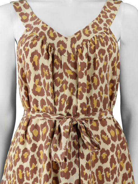 Vestido Marc By Marc Jacobs Regata Animal Print