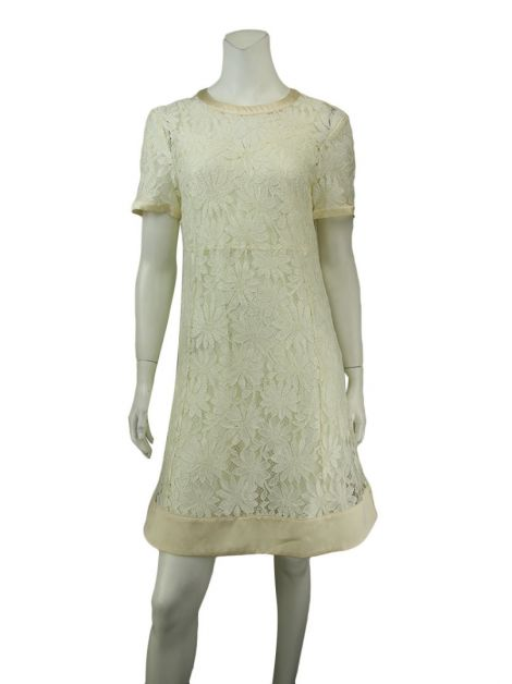 Vestido Marc By Marc Jacobs Renda Off-White