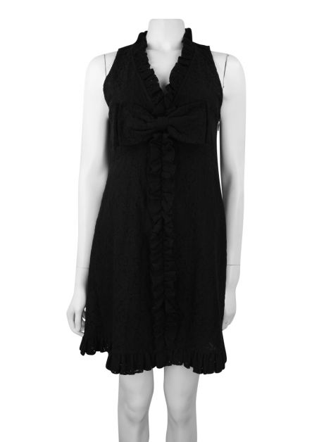 Vestido Marc by Marc Jacobs Renda Preto