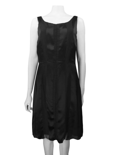 Vestido Moschino Cheap & Chic Seda Preto