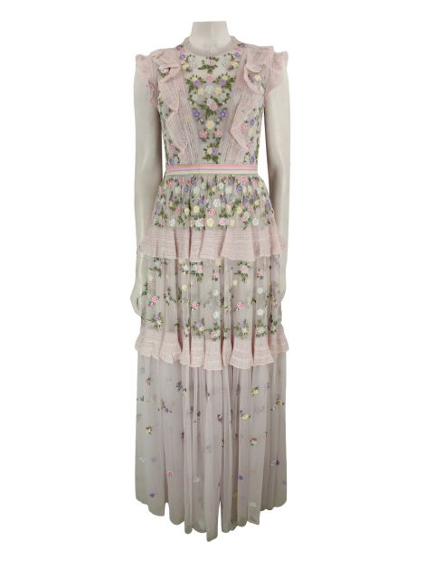 Vestido Needle & Thread Longo Floral