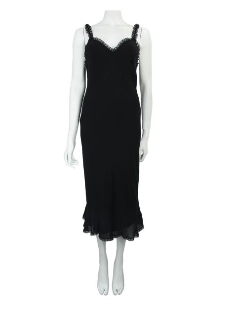 Vestido Paul Smith Seda Preto
