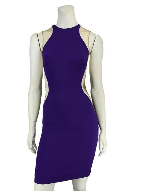 Vestido Stella McCartney Eliana Bicolor