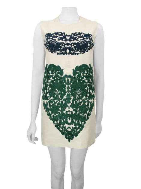 Vestido Stella Mccartney Off White Estampado