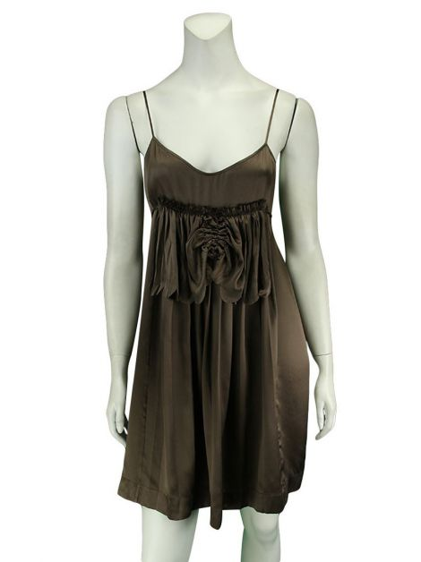 Vestido Stella Mccartney Sleep Dress Marrom