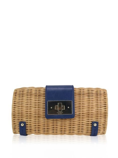 Bolsa Kate Spade Waverly Terrace Jeanetta Wicker Bege