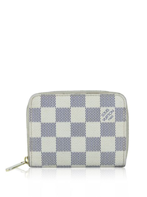 Carteira Louis Vuitton Zippy Coin Purse Damier Azur