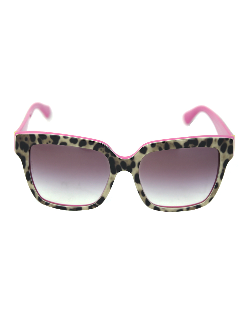 e7d4cb4d1 Óculos Dolce & Gabbana DG4234 Enchanted Beauties Animal Print ...