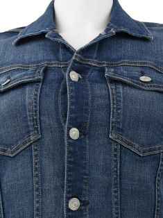 Jaqueta Seven For All Mankind Jeans Comprida
