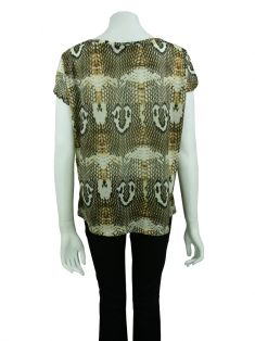 Blusa Lenny Niemeyer Animal Print