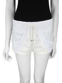 Shorts Raia De Goeye Curto Off-White