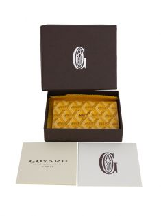 Carteira Goyard Canvas Chevron