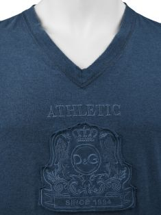 Camiseta D&G Athletic Azul Masculina