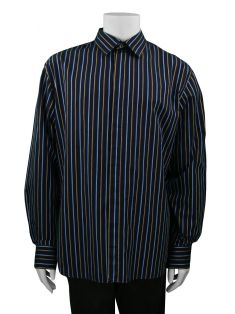 Camisa Paul Smith Marinho Listrada Masculina