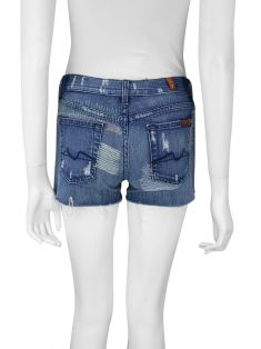 Shorts Seven For All Mankind Destroyed Jeans
