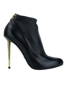 Ankle Boot Tom Ford Couro Preto