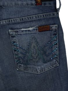 Bermuda Seven For All Mankind A Pocket Jeans